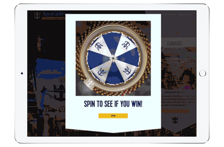 Royal Caribbean Instant Wint Game