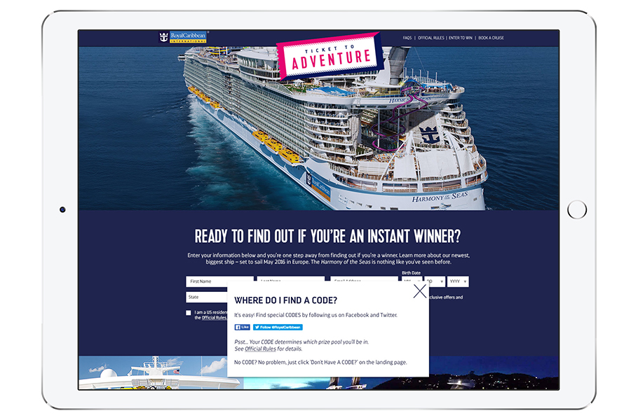 Royal Caribbean Secret Codes