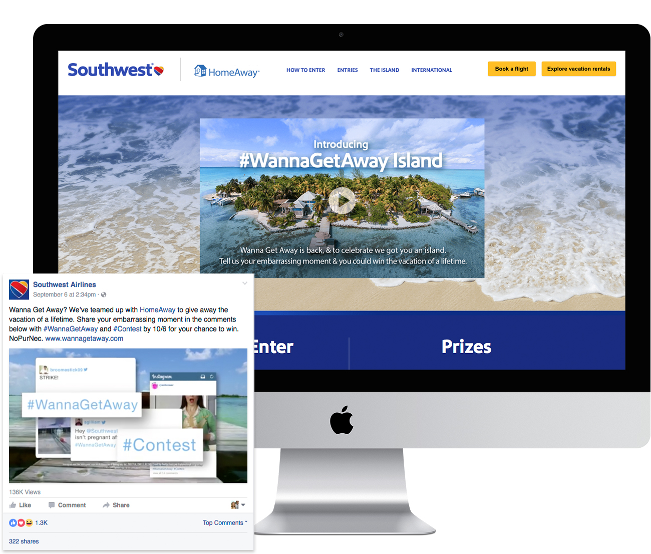 Southwest Airlines Wanna Get Away promotion entry